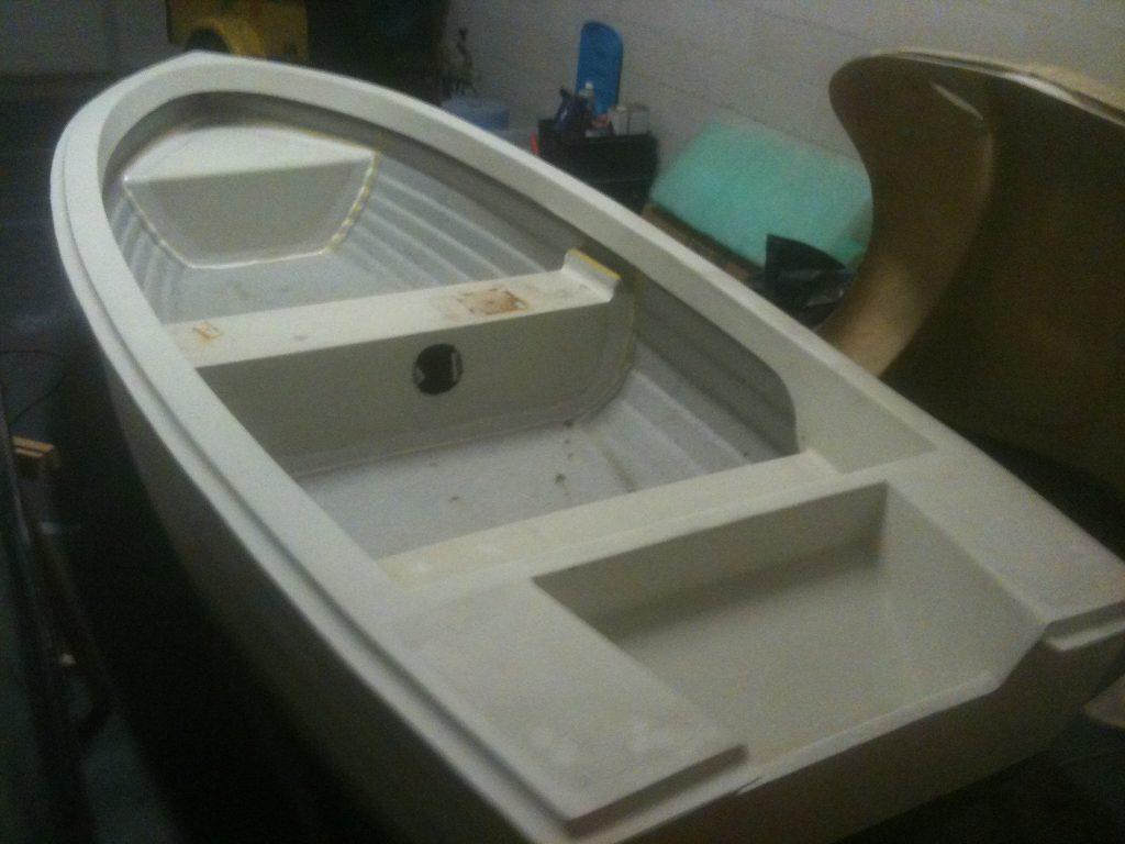 Schilderwerk roeiboot voor